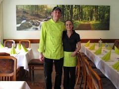 Michael Güth Küchenchef & Peggy Burkhardt Inhaberin