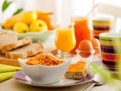 Frühstück Hotel Haselgrund