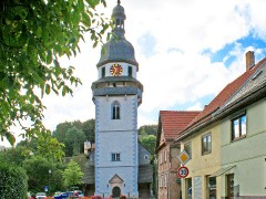 Kirchturm Steinbach Hallenberg