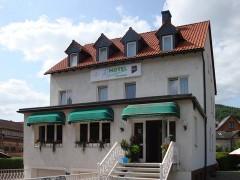 Das Hotel Haselgrund in Steinbach-Hallenberg.